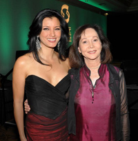Kelly Hu with Nancy Kwan